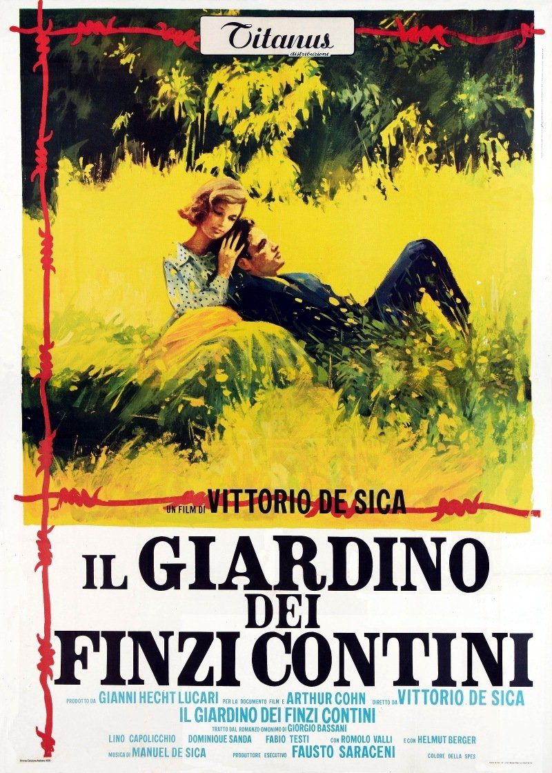 Garden of the Finzi-Continis movie poster