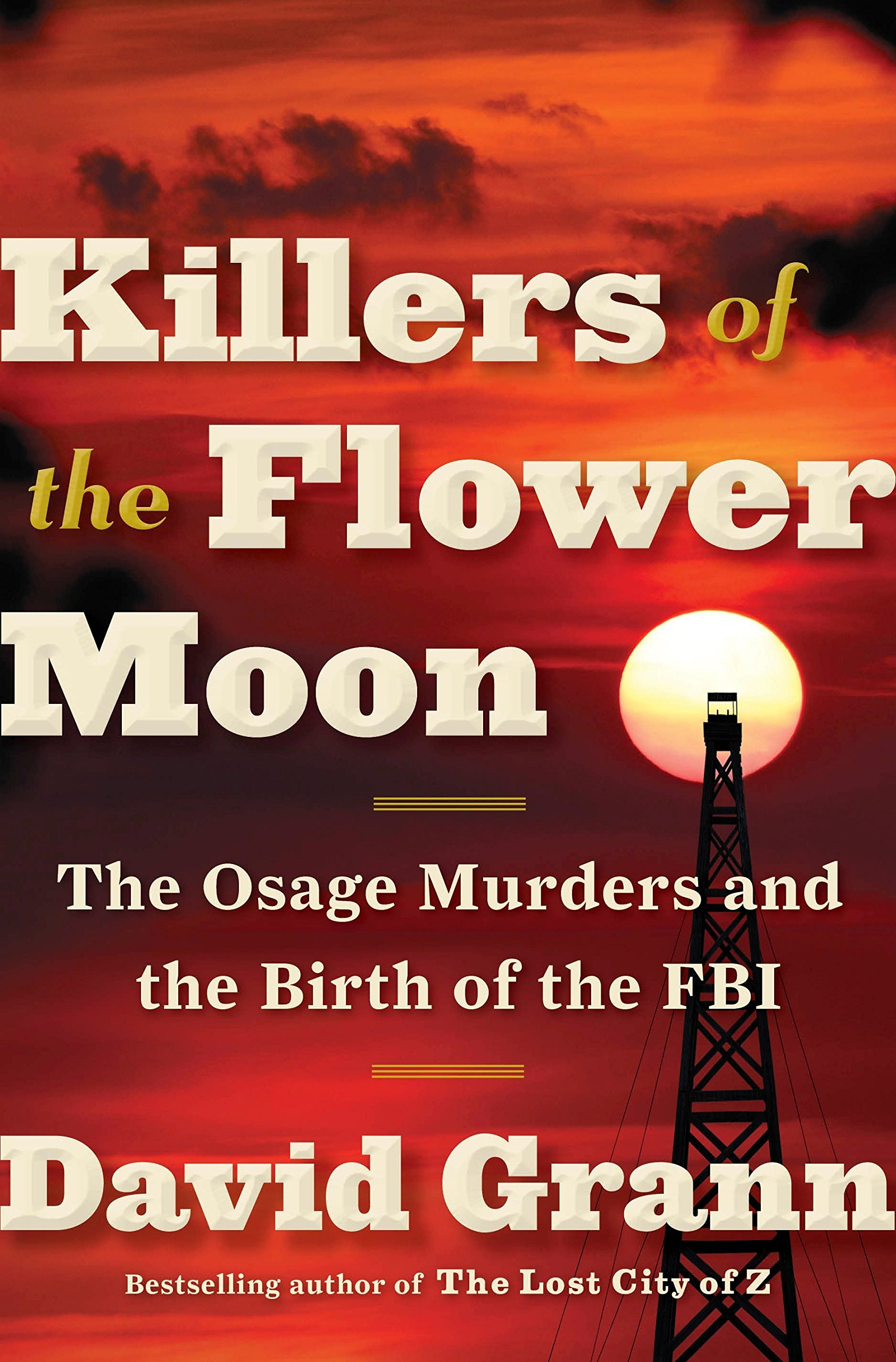 Killer of the Flower Moon book cover