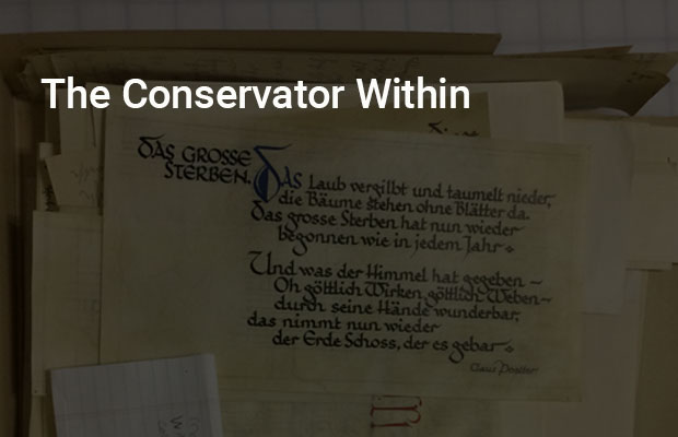 The Conservator Within