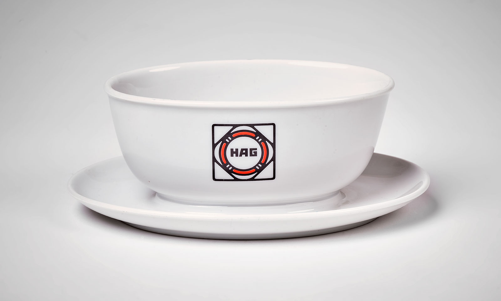 Kaffee Hag gravy boat and saucer