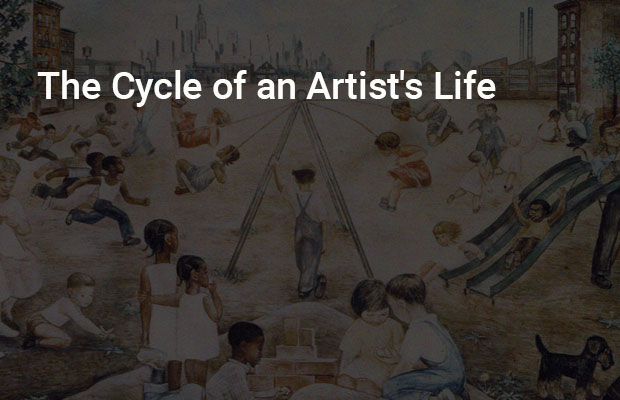 The Cycle of an Artist's Life