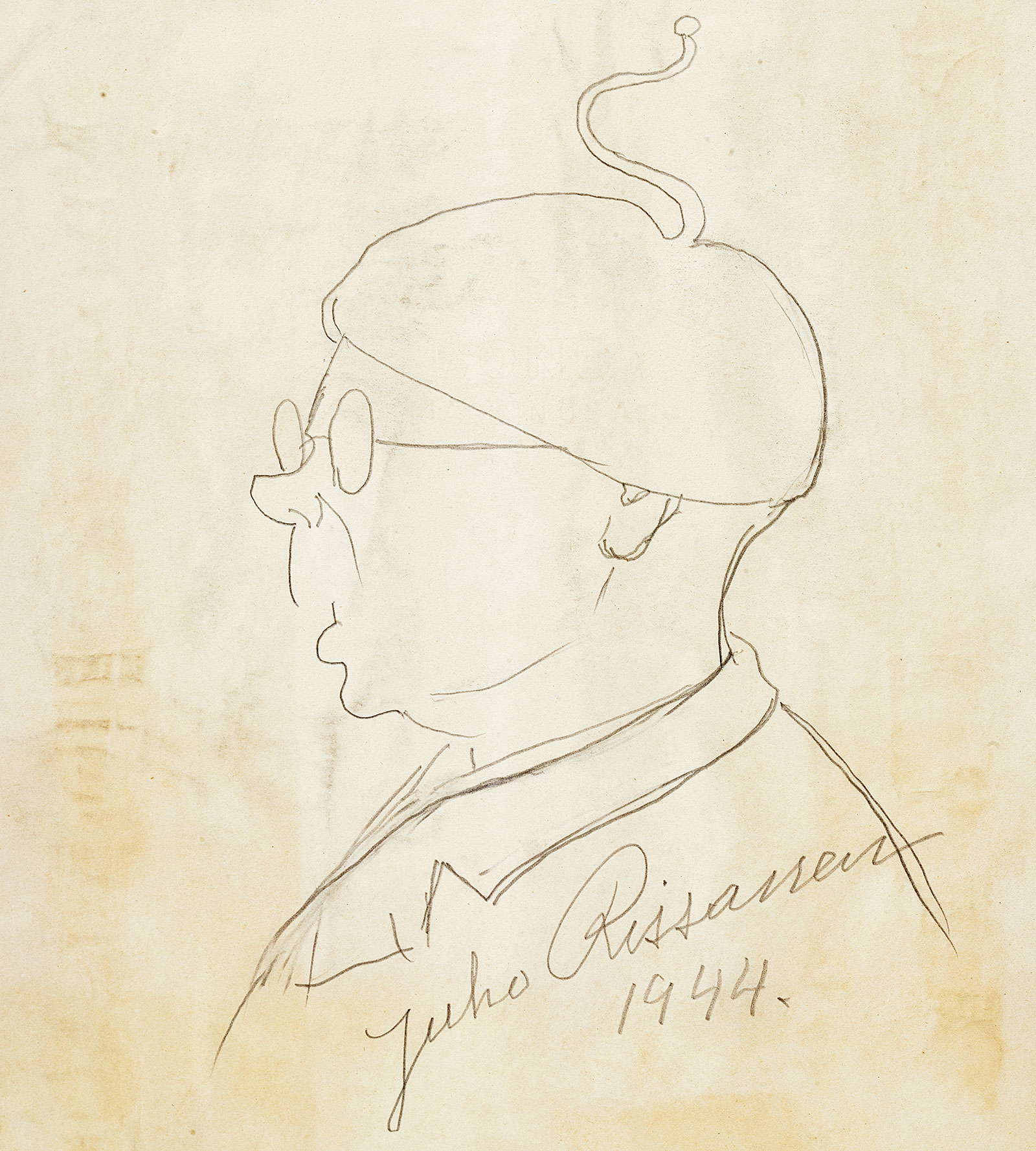 Self-portrait of Juho Rissanen