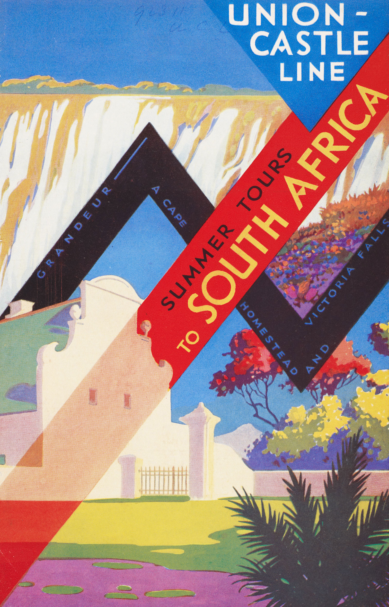 South Africa travel brochure
