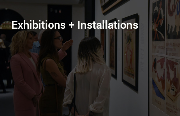 Exhibitions + Installations